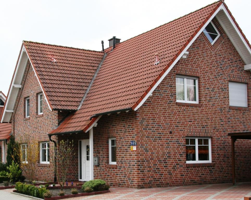 Дом построенный из клинкерного кирпича