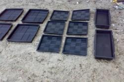 Силиконовые формы для изготовления брусчатки