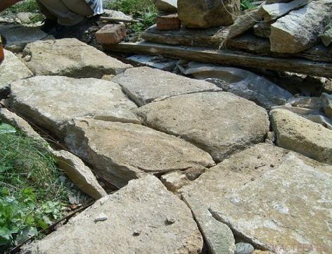 Технология мощения натуральным камнем