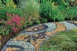 Предназначение садовых дорожек