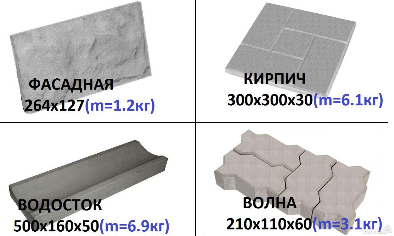 Точное соблюдение технологии производства позволяет изготавливать тротуарную плитку, прочность которой соответствует ГОСТ 17608-91.