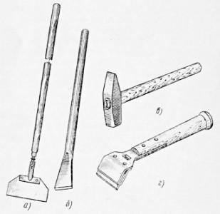 Инструменты для чистки плитки