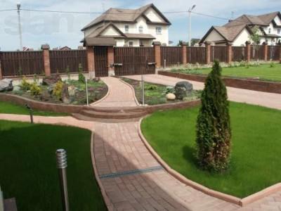 Планировка расположения площадки для тротуарной плитки