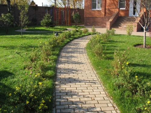 Основой качественной укладки тротуарной плитки (брусчатки) является тщательнейшим образом подготовленное основание.