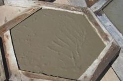 Раствор для тротуарной плитки: приготовление дома и на производстве