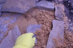 Укладка песчаника