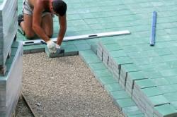 Укладка тротуарной плитки своими руками