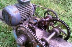Двигатель для бетономешалки своими руками
