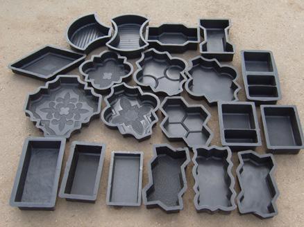 Купить форма для изготовления тротуарной плитки своими