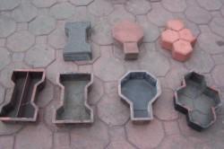Формы для тротуарной плитки.