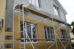 Облицовка фасада клинкерной плиткой