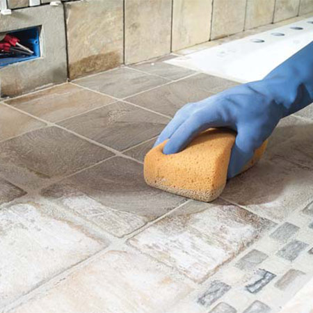 как отмыть плитку с шероховатой поверхностью длины одной плиты