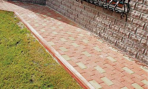 Отмостка вокруг дома своими руками из тротуарной фото 124
