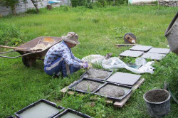 Изготовление тротуарной плитки в форме Дзержинский