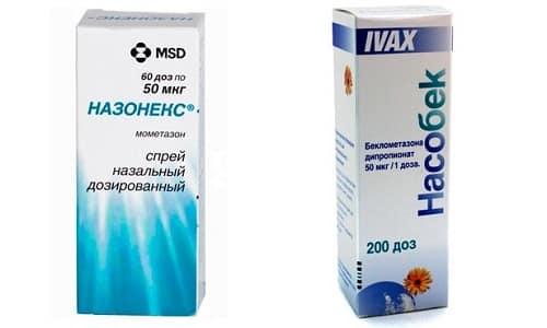 Какой из препаратов выбрать - Насобек или Назонекс - для лечения ринита, решает врач, т.к., состав у медикаментов разный