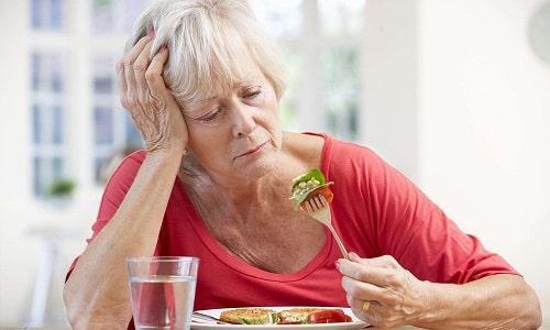Отсутствие аппетита - симптом холецистопанкреатита