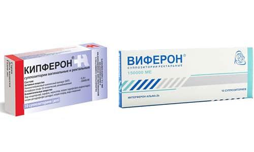 При снижении иммунитета в детском возрасте рекомендуется Кипферон или Виферон