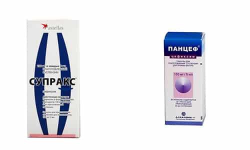 Панцеф и Супракс - это антибиотики широкого спектра действия, используемые в лечении инфекционных заболеваний органов дыхательной и мочевыделительной систем