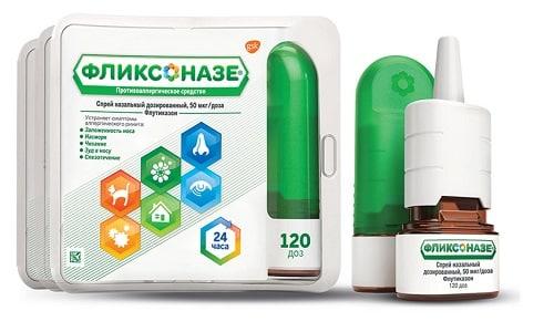 При использовании Фликсоназе возможно развитие у больного побочных эффектов в форме сухости и раздражения носоглотки, головных болей, искажения запаха или вкуса, носовых кровотечений