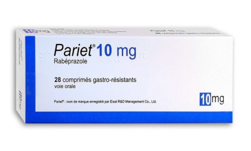 Париет для взрослых при язве желудка и кишечника назначается в дозе 20 мг 1 раз в день утром