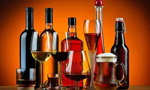 Допустимо принимать это лекарство одновременно со спиртосодержащими напитками