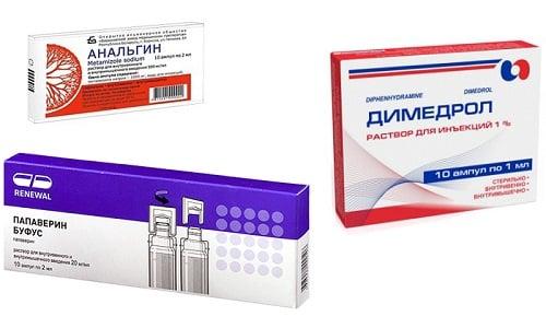 Комбинированный терапевтический состав из Анальгина, Папаверина и Димедрола часто применяется в медицинской практике