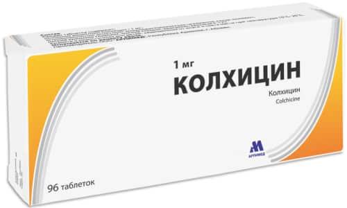 Колхицин позволяет быстро устранить симптомы, поэтому в некоторых случаях отдают предпочтение этому медикаменту