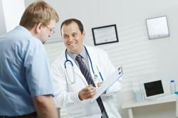 Обращение к врачу для установления диагноза