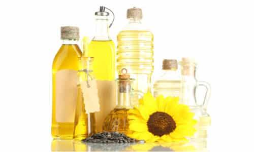 Для приготовления народного средства берут растительное масло (250 мл)
