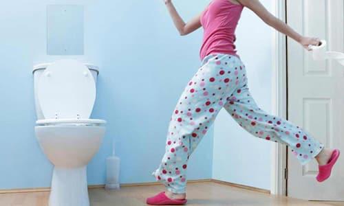 Частые походы в туалет это симптом заболевания