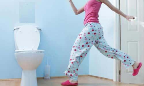 Воспаление мочевого пузыря приводит к необходимости частого посещения туалета
