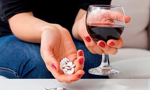 Употребление алкогольных напитков во время лечения не рекомендовано