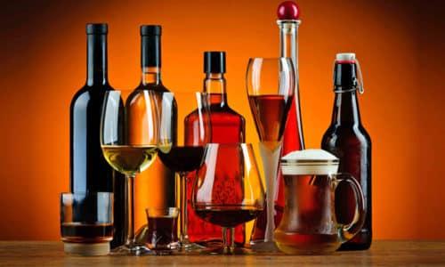 Употребление этанолсодержащих напитков пагубно сказывается на здоровье