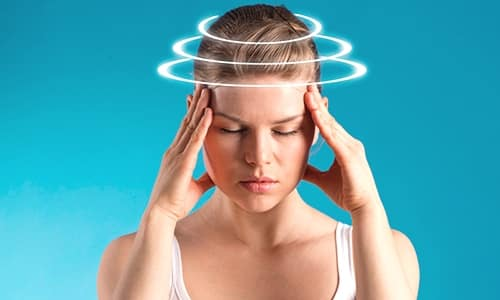 Головокружение - один из побочных эффектов от приема медикамента Амбен