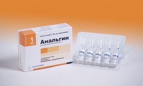 Анальгин в литической смеси используют при риске появления фебрильных судорог