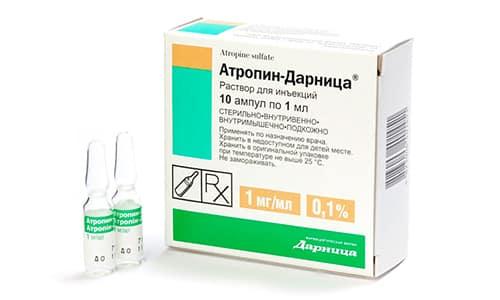 Атропин характеризуется лечебным воздействием, влияющим на периферические и центральные М-холинорецепторы
