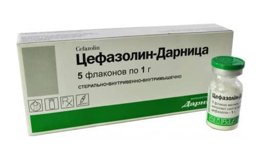 Для профилактики послеоперационных осложнений Цефазолин вводят за час до вмешательства