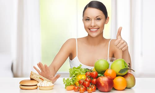 Лечение уплотнения заключается в правильно подобранной диете
