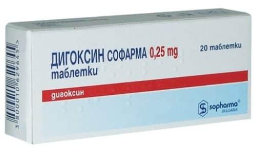 А при одновременном приеме церукала , дигоксина происходит взаимное ослабление эффектов