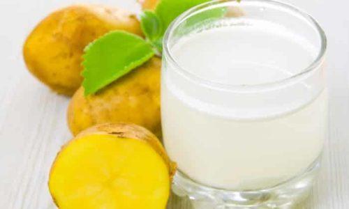 Картофельный сок необходимо употреблять в течение 10 минут после его изготовления, иначе он может утратить полезнейшие качества