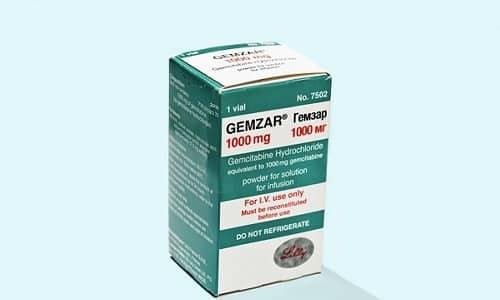 Химическая терапия злокачественного образования поджелудочной включает применение препарата Гемзар