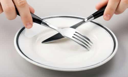 Быстро восстановить работу органа допустимо при помощи лечебного голодания