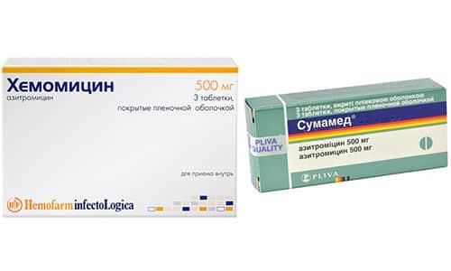 Хемомицин и Сумамед это сильнодействующие антибактериальные средства, которые способны быстро и эффективно справиться со многими инфекционными патологиями