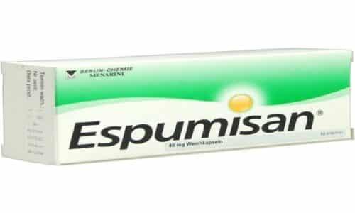 При повышенном газообразовании можно принять Эспумизан
