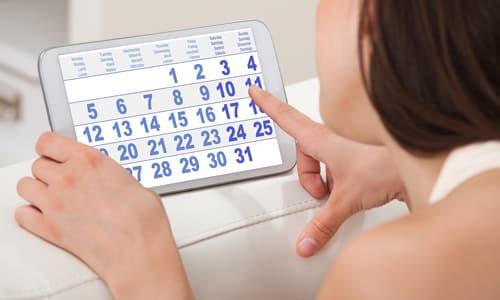 В большинстве случаев курс лечения составляет от 3 до 5 дней