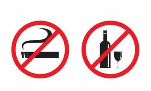 Для профилактики рака поджелудочной железы следует исключить вредные привычки - алкоголь и курение