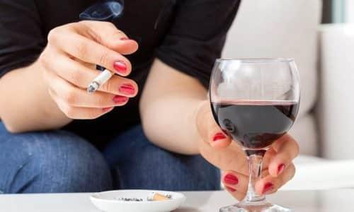 Курение и алкоголь вызывают не только поверхностный гастрит, но и множество других заболеваний