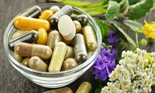 Чтобы снять воспаление и нейтрализовать действие возбудителей, запустивших инфекционные процессы в организме, прописывают антибиотики, антисептики, диуретики
