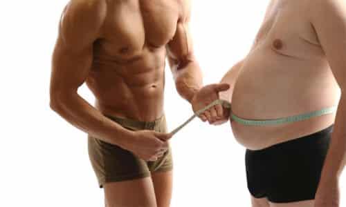 Если у человека имеется большое скопление жиров в брюшной полости, периодически могут возникать болевые ощущения в районе желудка