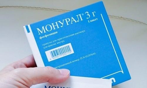 Активный компонент Монурала обладает широким спектром действия и оказывает бактерицидное воздействие